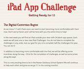 iPad Challenge
