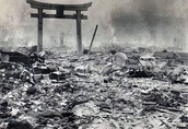 Destruction to Hiroshima
