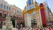 Instantánea del Corpus Christi en Sevilla