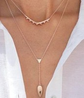 Tiered Lariat Necklace