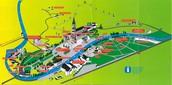 Plano de la zona del Santuario