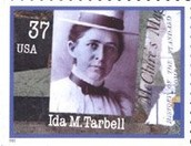 Ida Tarbell on a stamp