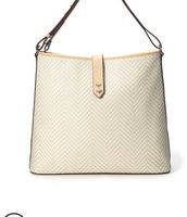 CROSBY HOBO - NEUTRAL WOVEN CHEVRON £80 RRP £132