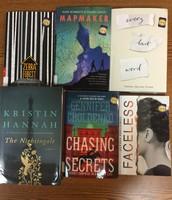 New Fiction Titles!