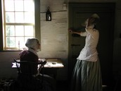 Old Salem; Moravian girls
