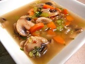 Vegetable Lovers' Wild Rice Soup