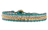 Foundation Bracelet-Aqua