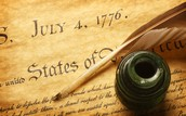 When the Declaration of Independence was signed.