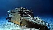 Titanic over 12,000 feet under the ocean