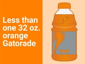 FDA's new recommended daily amount of sugar: sports drink