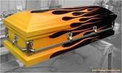 Flaming Casket