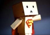 Super Man Box People