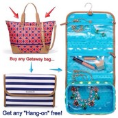 BUY A GETAWAY receive a HANG ON FOR FREE!