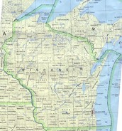 Map of winsconsin
