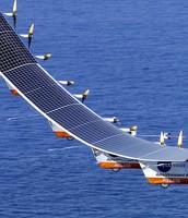 Solar powered plane