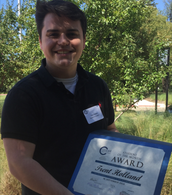 Trent Holland- Chamber Student of the Month
