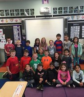 Maddie with her classmates