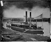 History of the steamboat.