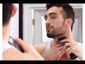 beard and neck
