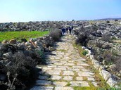 Ancient Roman roads