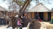 Outgoing Volunteer Jane went to Botswana