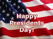 President's Day Closure Notice