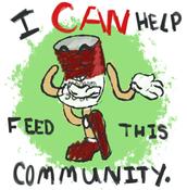 Please donate Non-Perishable food
