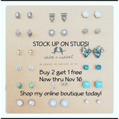STOCK UP ON STUDS