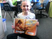 McKenna reading Fly, Eagle, Fly!