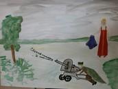 Рисунок коллектива 6 класса