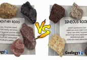 Sedimentary Vs Igneous Rocks