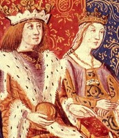 Ferdinand and his wife Isabelle