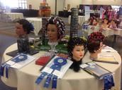 Awarded Hairstyles at Skills USA