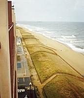 Ocean City sand length