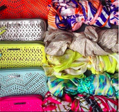 Clutches, Tech Wallets, and Wraps - what's your color?