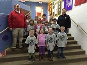 K-2 Students of the Month!