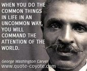 The Quotes of George Washington Carver