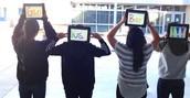 Fun with the iPads!