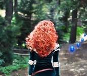 Curley hair