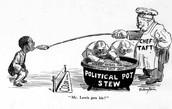 Political Cartoon featuring Taft