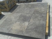 Silver 24x24  Tumbled Pavers