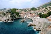 Dubrovnik, Croatia Old City on the Adriatic Sea.