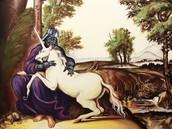 Darth Vader con unicornio
