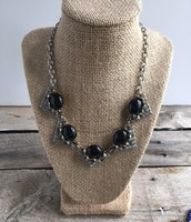 Rory Necklace--Black
