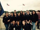 ECHS Volunteers at Veterans Cemetery