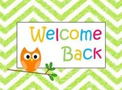 It's Second Semester and we're thrilled to have you here!