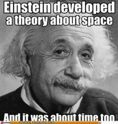Theory of Relativity!!!! (E=mc2)