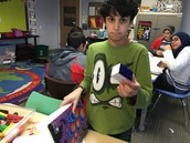 Designing 3-D Shapes, and investigating the volume