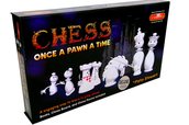 The chess set we will use to learn the rules!
