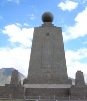 Middle of the world monument :